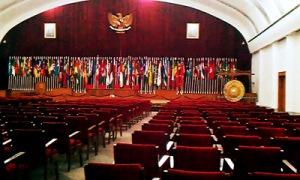 ruang sidang utama Gedung Merdeka (foto:nrmnews.com)